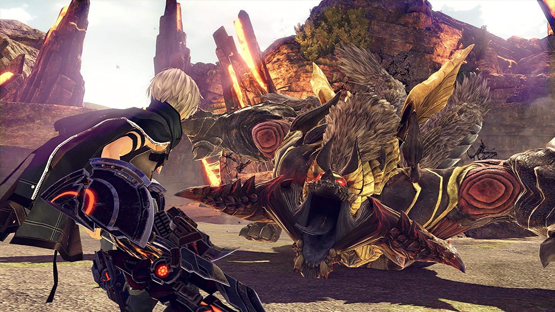 God Eater 3 combat contre un aragami