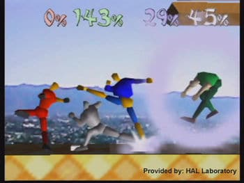 Super Smash Bros. origines