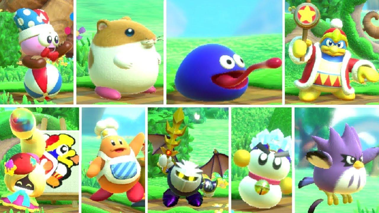 Kirby: Star Allies - De nombreux héros