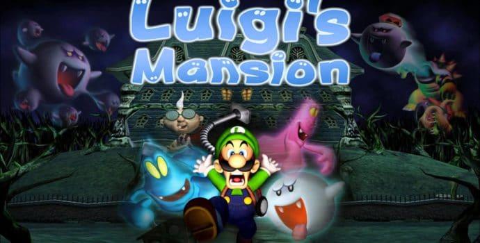 Luigi's Mansion - montage jaquette