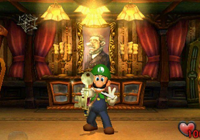 Luigi's Mansion - première obtention de clé