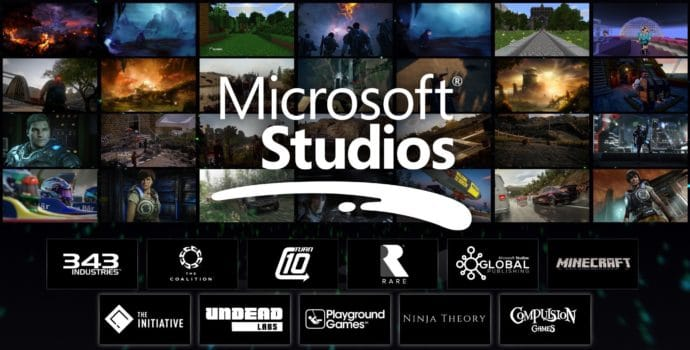 Microsoft Studios liste des studios