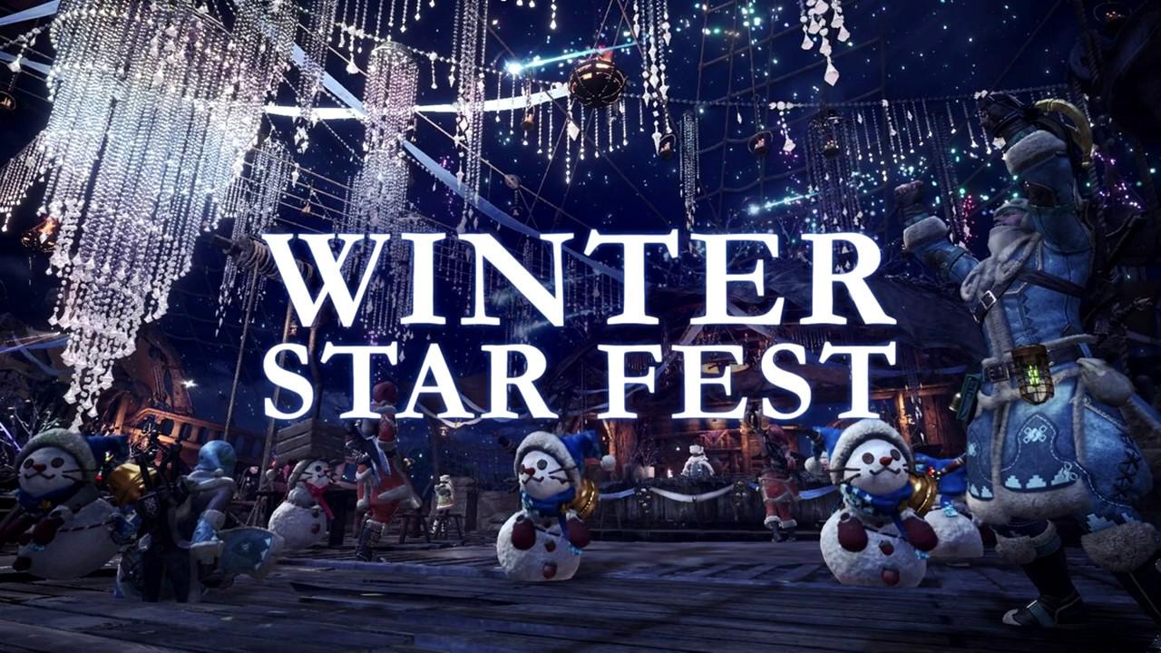 Monster Hunter World - Winter Star Fest