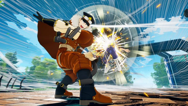 My Hero One's Justice Gale Force déglingue Shoto Todoroki