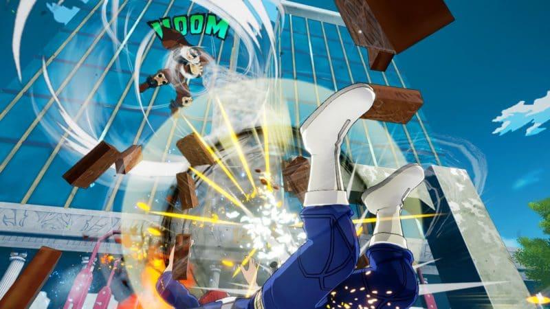 My Hero One's Justice Gale Force rétame Shoto Todoroki