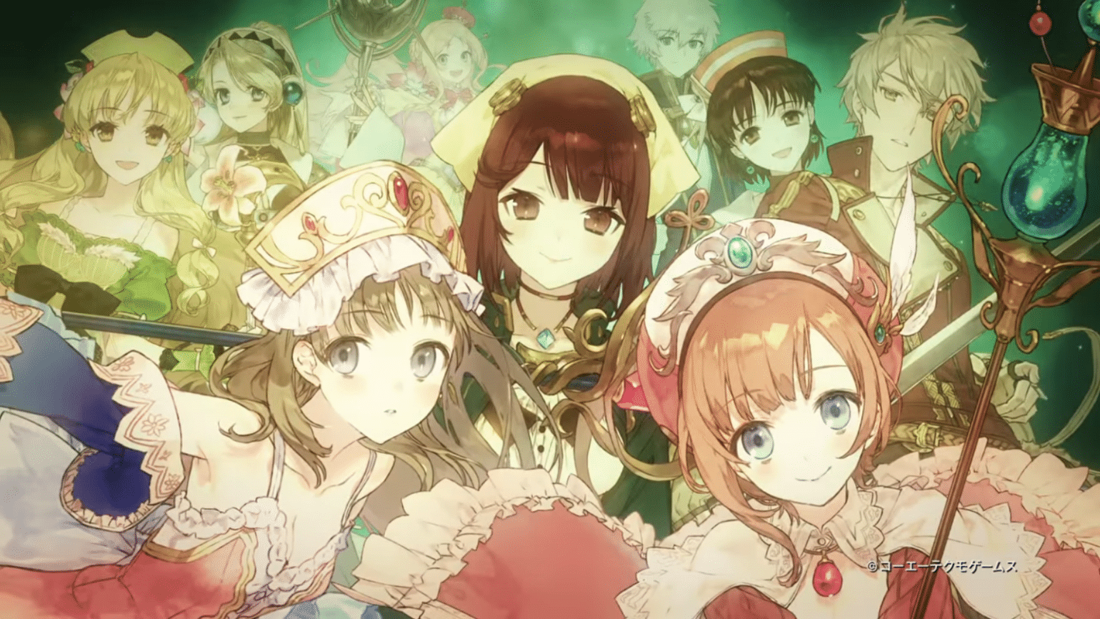 Nelke & the Legendary Alchemists: Ateliers of the New World- personnages féminins
