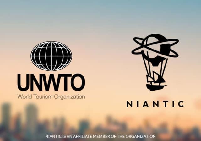 Niantic associé à l'Organisation mondiale du tourisme