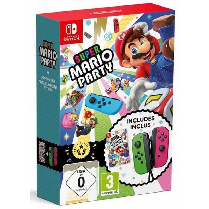 Nintendo Swich - pack Super Mario Party