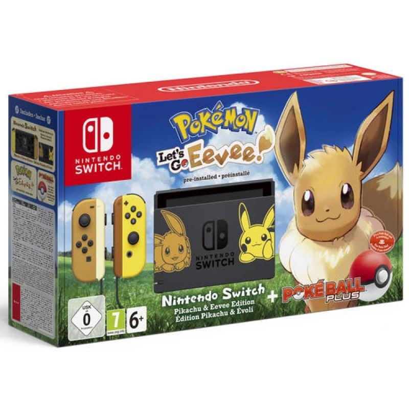 Nintendo Switch - Édition spéciale Évoli