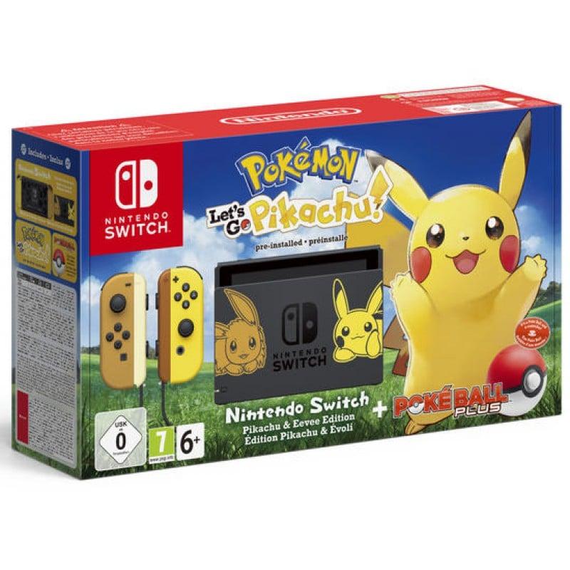 Nintendo Switch - Édition spéciale Pikachu