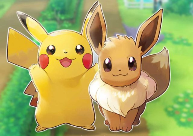 Nintendo Switch Edition Pikachu et Evoli - duo de mascottes