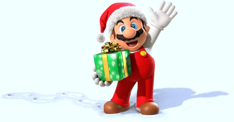 Nintendo Switch - Mario de Noël