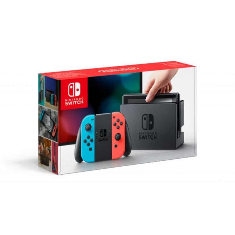 Nintendo Switch - Rouge et bleu