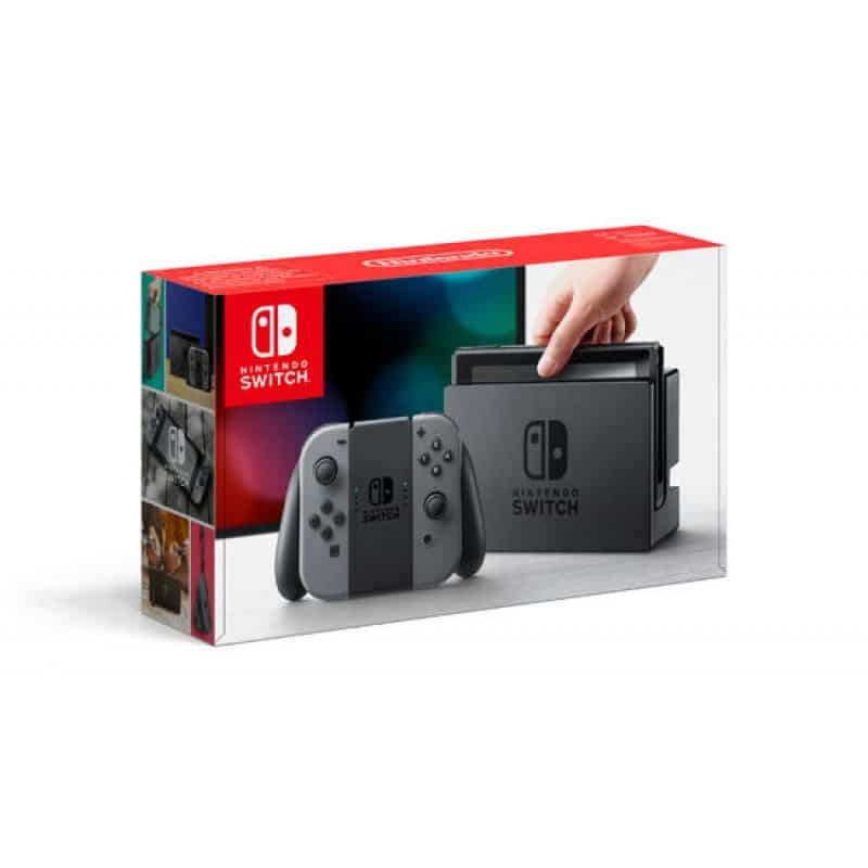 Nintendo Switch - double gris