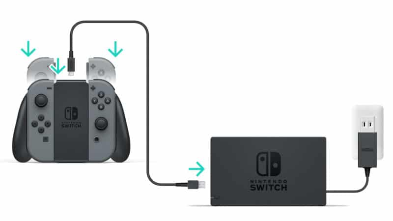 Nintendo Switch - support de charge Joy-Con