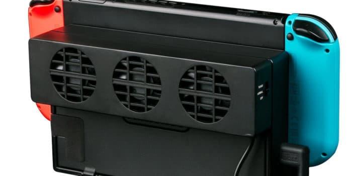 Nintendo Switch - ventilateur docké