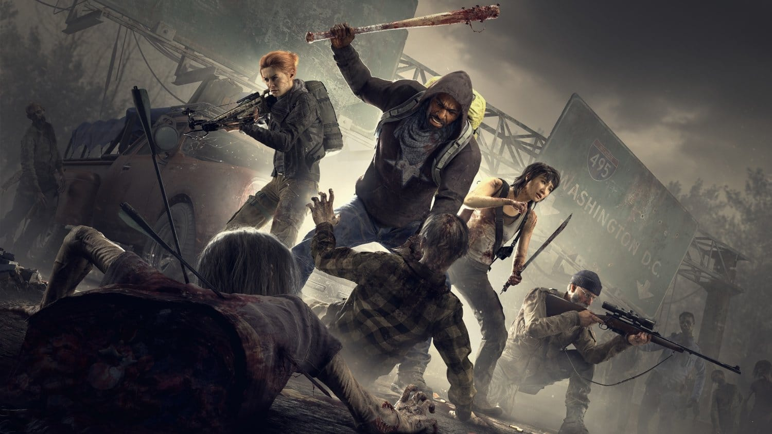 Starbreeze Overkill's The Walking Dead image promotionnelle