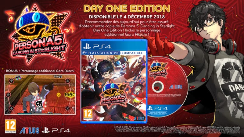 Persona Dancing 3 et 5 Persona 5 Dancing Day one edition