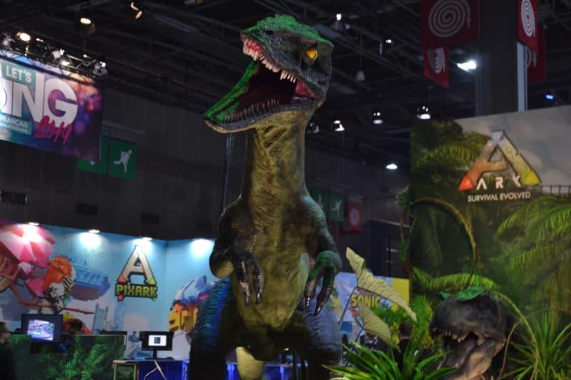 Paris Games Week Dinosaure Ark