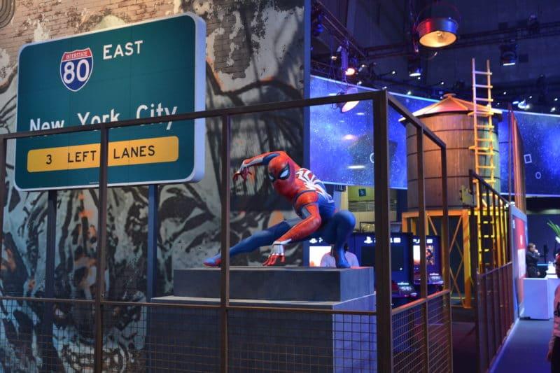 Paris Games Week Spider-man