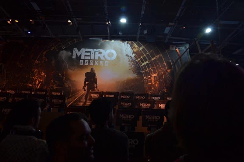 Paris Games Week stand Metro Exodus