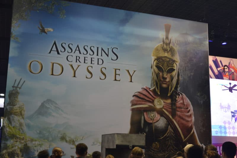 Paris Games Week stand Assassin's Creed Odyssey