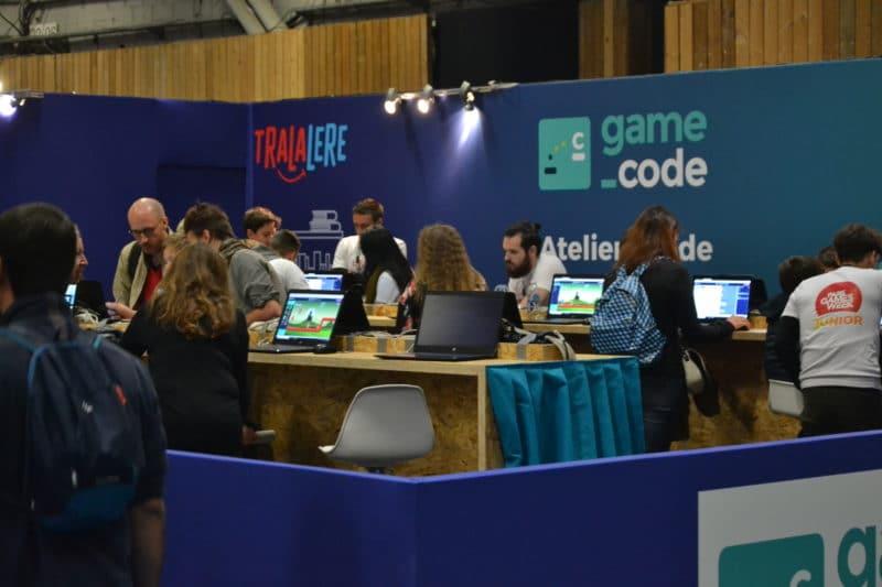 Paris Games Week stand Game Code