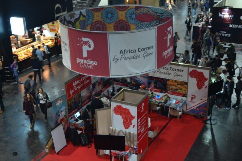 Paris Games Week Africa Corner