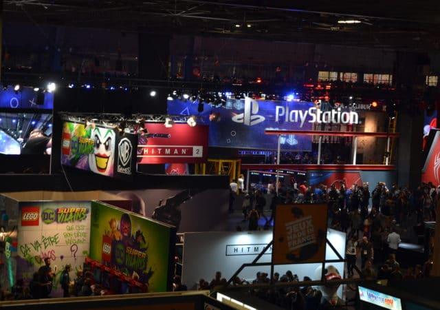 Paris Games Week vue du salon