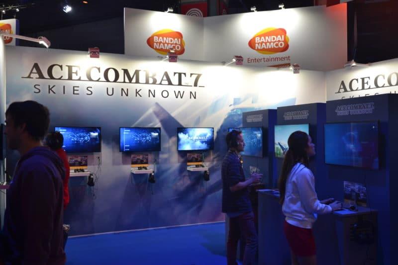 Paris Games Week Ace Combat 7