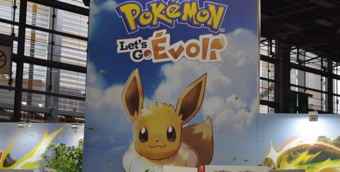 Paris Games Week Pokémon Let's Go Evoli