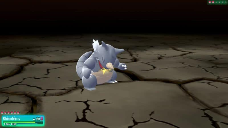 Pokémon Let's Go! - Attaque dévastatrices