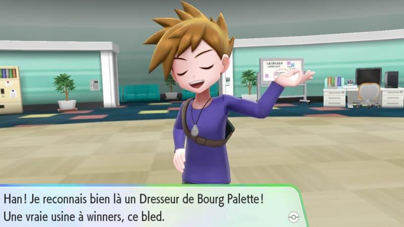 Pokémon Let's Go! - Visages connus
