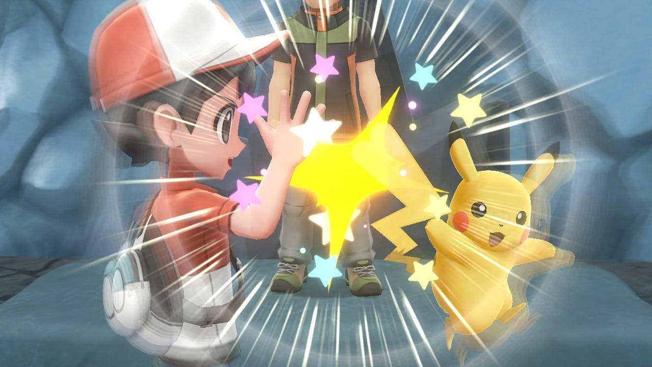 Pokémon Let's Go! - High Five Pikachu