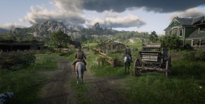 Red Dead Redemption 2 - Arrivée au ranch
