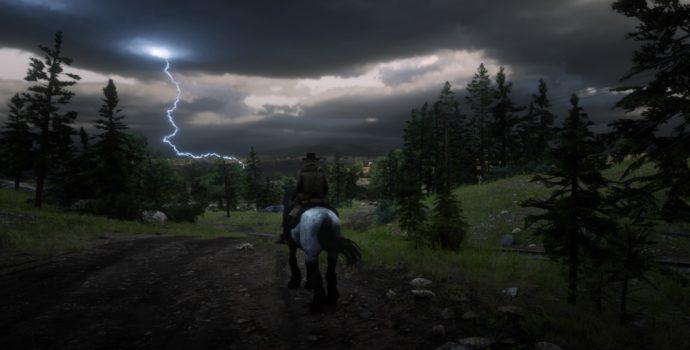 Red Dead Redemption 2 - Orage