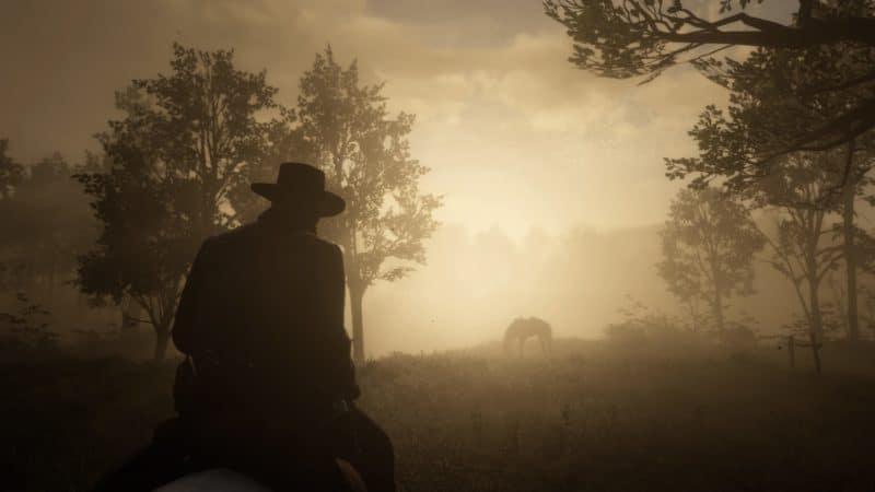 Red Dead Redemption 2 - Ambiance brume
