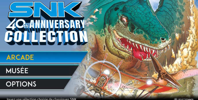 SNK 40th Anniversary Collection - Review Cover