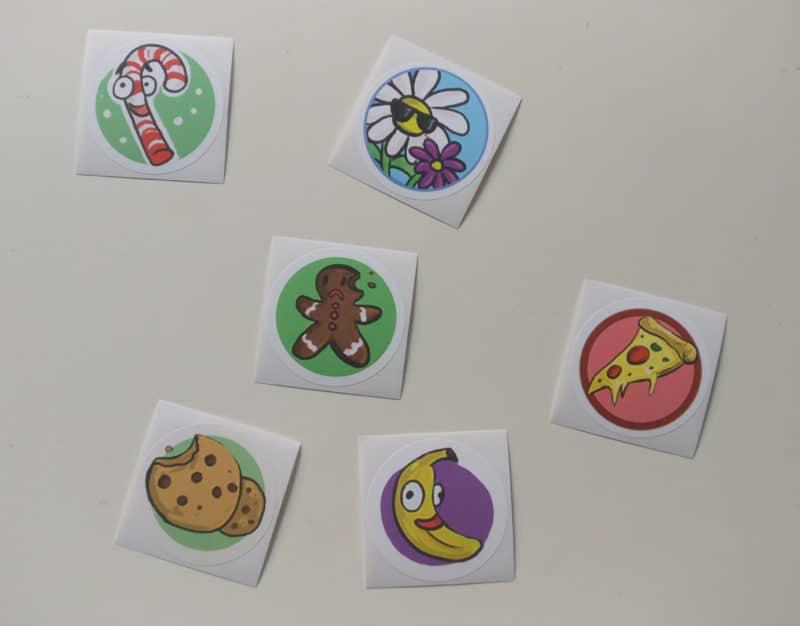 Saturday Morning RPG CE - assortiment stickers parfumés