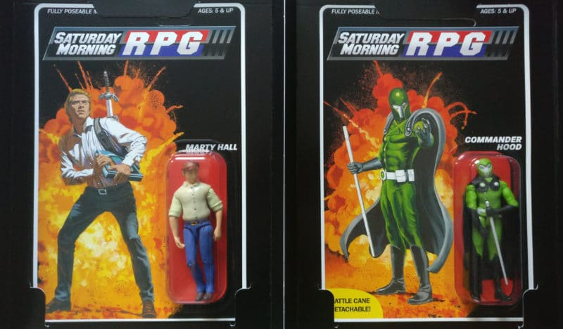 Saturday Morning RPG CE - duo figurines articulées