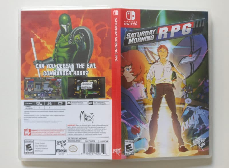 Saturday Morning RPG CE - jaquette 1