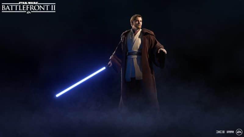 Star Wars Battlefront II - Obi-Wan Kenobi avec manteau