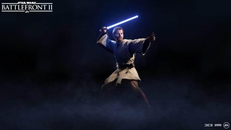Star Wars Battlefront II - Obi-Wan Kenobi sans manteau