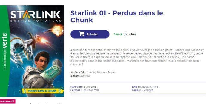 Starlink: Battle for Atlas - page bibliothèque verte