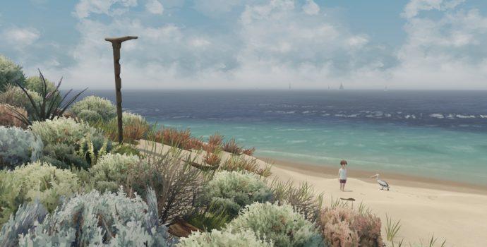 Storm Boy: The Game - la plage