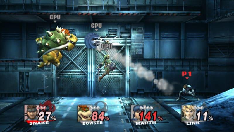 Super Smash Bros. Brawl - Combat à Shadow Moses