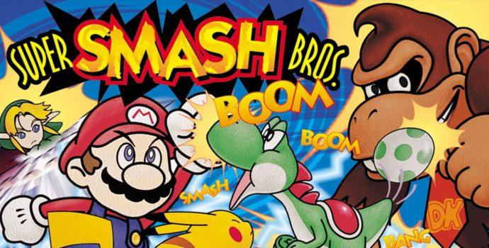 Super Smash Bros. Jaquette Nintendo 64