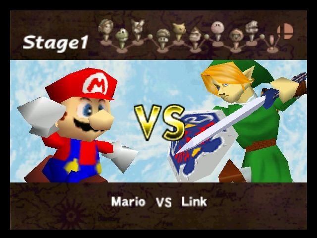 Super Smash Bros. versus