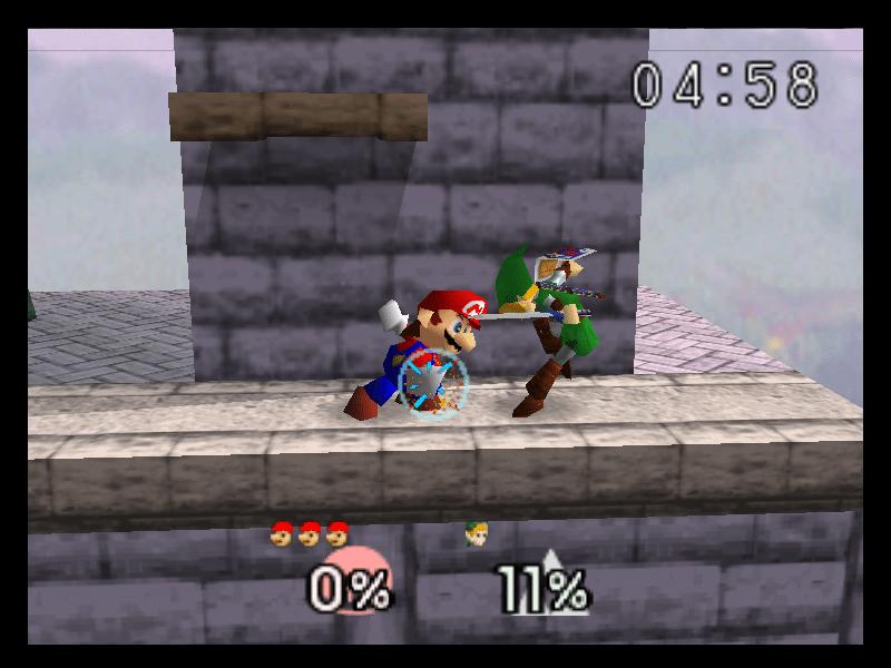 Super Smash Bros. Link Mario