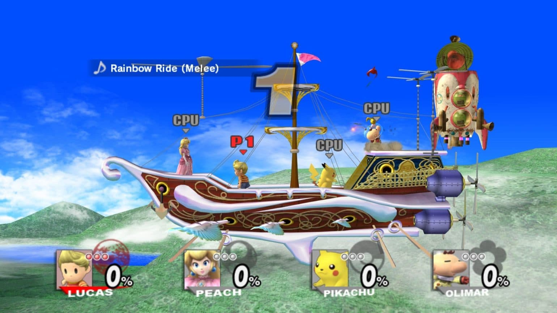 Super Smash Bros. bateau